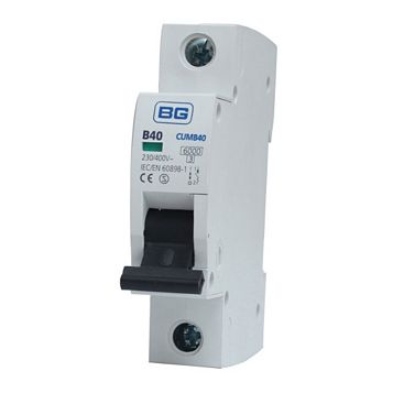 British General 40A MCB (Miniature Circuit Breaker)