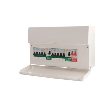 British General 10 Way Consumer Unit