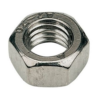 M10 A2 Stainless Steel Hex Nuts, Pack of 100