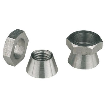 M8 A2 Stainless Steel Security Shear Nuts, Pack of 10