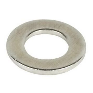 M5 A2 Stainless Steel Flat Washer, Pack of 100