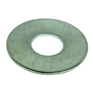 M12 A2 Stainless Steel Flat Washer, Pack of 10