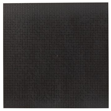 Soho Black Porcelain Floor Tile, Pack of 3, (L)600mm (W)600mm