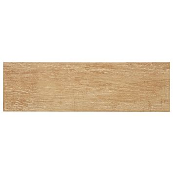 Organik Honey Oak Effect Ceramic Wall & Floor Tile, Pack of 13, (L)500mm (W)150mm