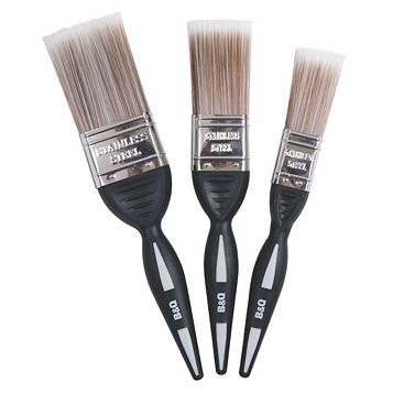 Diall Fine Finish Soft Tipped Paint Brush (W)1