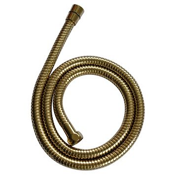 Cooke & Lewis Gold Effect Brass Shower Hose 1.25m