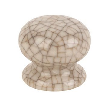 Traditional Cabinet Door Knobs Porcelain, Pack of 2