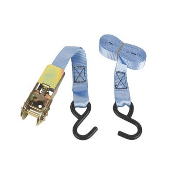 3m Ratchet Tie-Down Strap with Hook Of Set