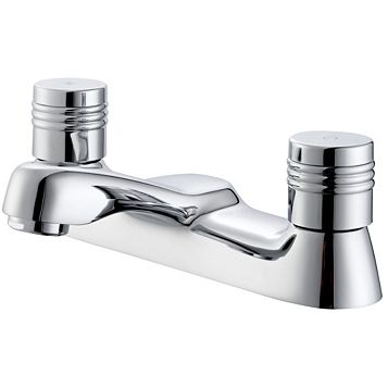 Plumbsure Opal Chrome Bath Mixer Tap