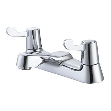Plumbsure Amber Chrome Bath Mixer Tap