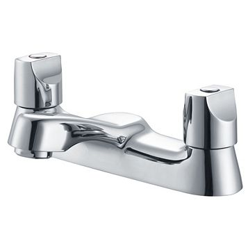 Plumbsure Topaz Chrome Bath Mixer Tap