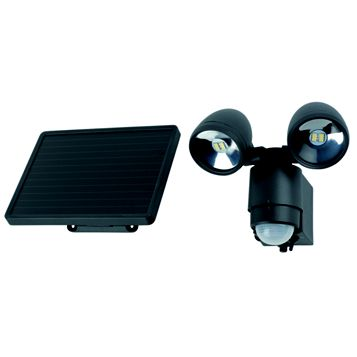 0.5W Mains Powered Solar LED Floodlight with PIR
