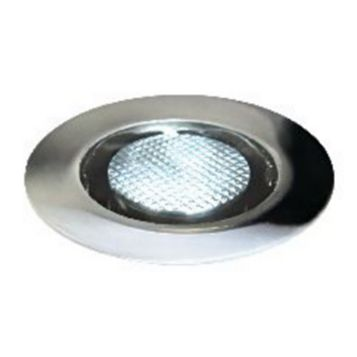 Diall Polished Stainless Steel Downlight 1.5 W, Pack of 10