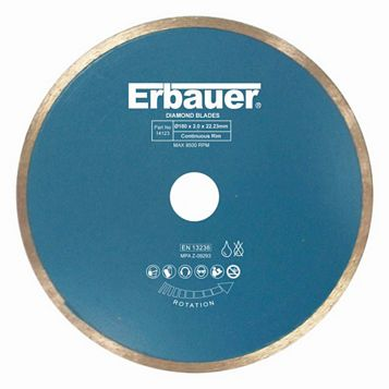 Erbauer (Dia)180MM Diamond Tile Blade