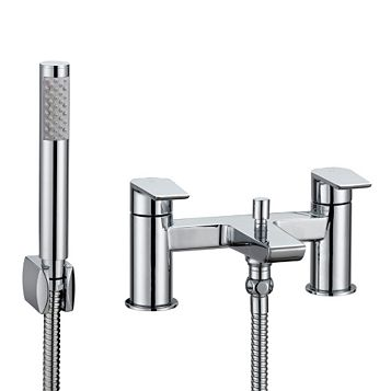 Cooke & Lewis Ricci Chrome Bath Shower Mixer Tap