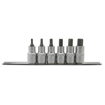 Mac Allister Hex Bit Socket Set, 6 Pieces