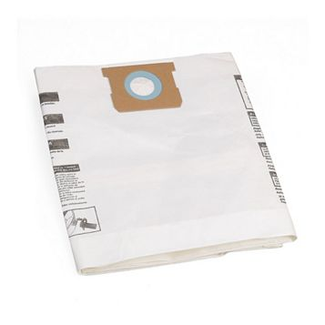 PTX Vacuum Collection Filter Bags 40-50 L, Pack of 5