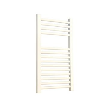 Flomasta Curved Towel Radiator White Powder Coated (H)700 (W)400mm
