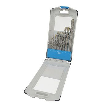 PTX Mixed Masonry Drill Bit Set, 10 Piece