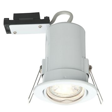Lap Fire Rated White Gloss Downlight 2.5 W
