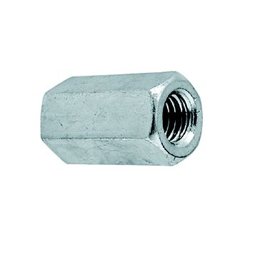 Easyfix M10 A2 Stainless Steel Threaded Rod Connecting Nuts, Pack of 10