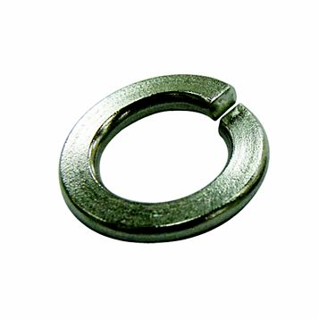 Easyfix M12 A2 Stainless Steel Split Ring Washers, Pack of 100