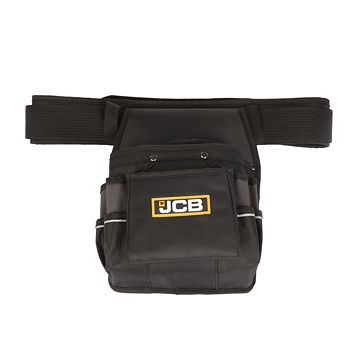 JCB Polyester Single Pouch with Belt