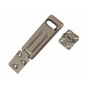 Smith & Locke Sheet Steel Hasp & Staple, 118mm