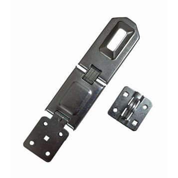 Smith & Locke Sheet Steel Angled Hasp & Staple, 195mm