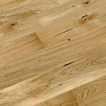 Colours Chamili Natural Oak & Coniferous Wood Real Wood Top Layer Flooring 1.37m² Pack