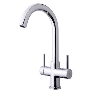 Cooke & Lewis Zale Chrome Effect Monobloc Tap