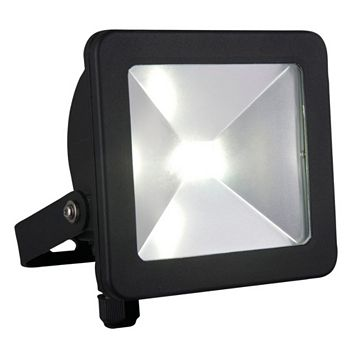 Blooma Bythos Black 10W Mains Powered External Security Flood Light
