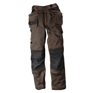Rigour Tradesman Brown Trousers W34