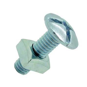 M6 Roofing Bolt (L) 25 mm, Pack of 10