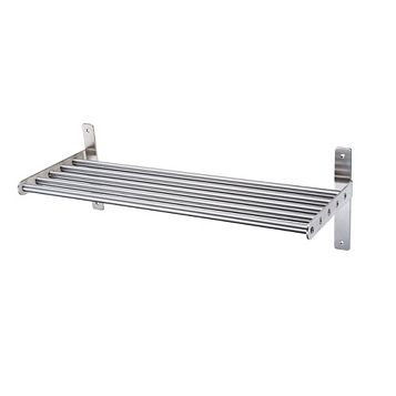 Cooke & Lewis Hastings Steel Effect Tube Shelf (L)610mm (D)220mm
