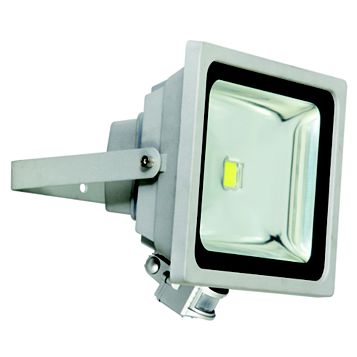 Lap XQ-Lite 50W Mains Powered Cob PIR Floodlight