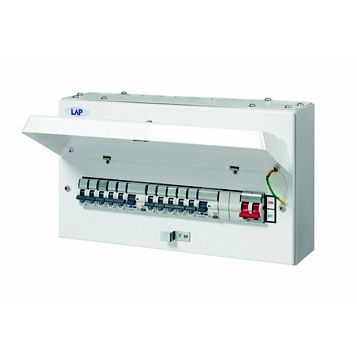 Lap 100A 12-Way Consumer Unit