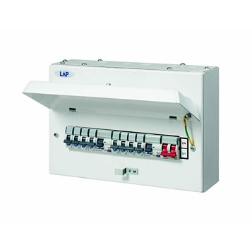 Lap 100A 8-Way Consumer Unit