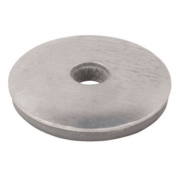 Timco Galvanised Steel EPDM Washer, Pack of 100