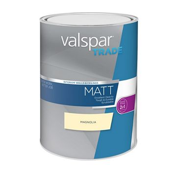Valspar Matt Emulsion Paint Magnolia, 5L