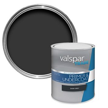 Valspar Trade Dark Grey Primer 1L