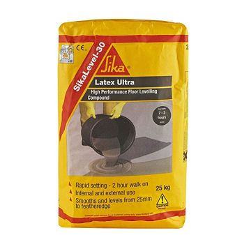 Sika Latex Modified Cement Base Floor Leveller, 25kg Bag