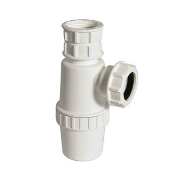 Floplast Telescopic Waste Bottle Trap