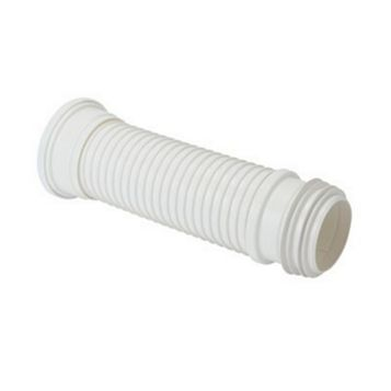 Floplast SP106 White Flexible Pan Connector (L)160-300mm