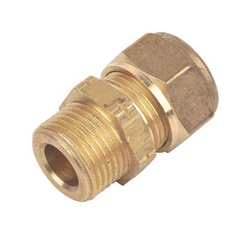 Compression Male Coupler (Dia)10 mm
