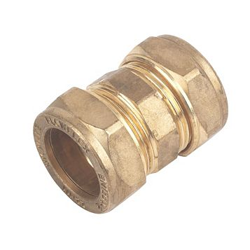 Compression Straight Coupler (Dia)22 mm, Pack of 10