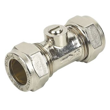 Compression Isolating Valve (Dia)15mm