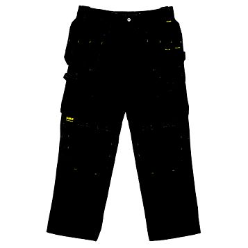 DeWalt Pro Black Work Trousers (Waist)34