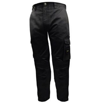 Stanley Phoenix Black Work Trousers (Waist)30