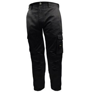 Stanley Phoenix Black Work Trousers (Waist)36